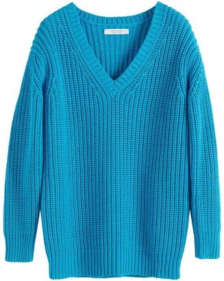 Parker Chinti & Blue Le Soir V Neck Sweater