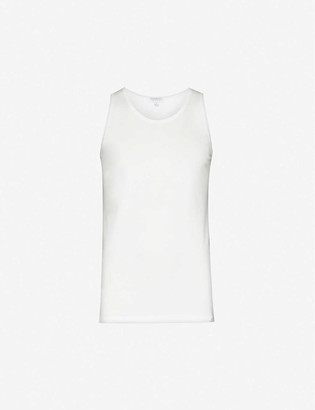 Sunspel Q82 superfine cotton-jersey vest