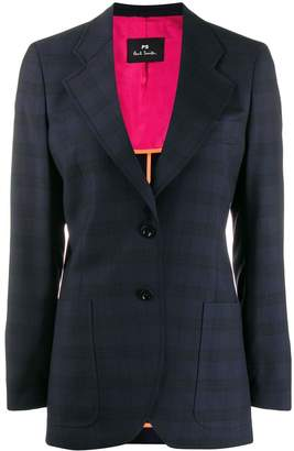 Paul Smith checked wool blazer