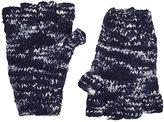 The Elder Statesman Women's Mélange Cashmere Fingerless Gloves