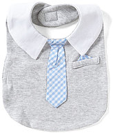 Edgehill Collection Baby Boys Mock-Tie Bib