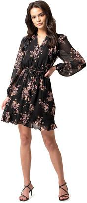 Forever New Angel Ruffle Skater Dress