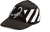 Off-White Othelo scorpion-print cap