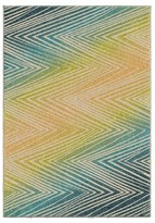 Orian Rugs Ople Chevron Promise Indoor/Outdoor Area Rug - Multicolor