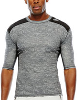 adidas Techfit Short-Sleeve Compression Shirt