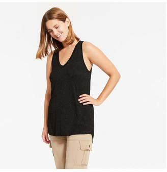 Joe Fresh Women's Tank Tunic, Black (Size S)