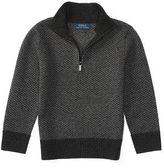 Ralph Lauren Wool Herringbone Sweater