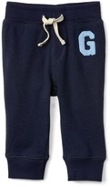 Gap Sherpa logo terry pants