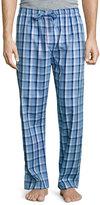 Derek Rose Plaid Cotton Pajama Pants, Blue