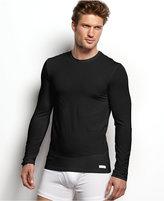 Calvin Klein Men's Loungewear Micro Modal Long Sleeve Crew Undershirt U1139