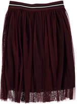 Molo Baili Tulle-Overlay Skirt, Size 3T-14