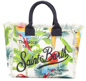 MC2 Saint Barth Macaw print tote bag