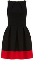 Closet Black contrast hem dress