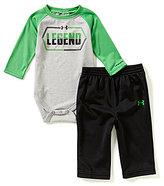 Under Armour Baby Boys Newborn-12 Months Legend Bodysuit & Pants Set