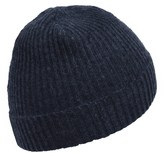 Portolano Ribbed Cashmere Stocking Cap (For Men and Women)