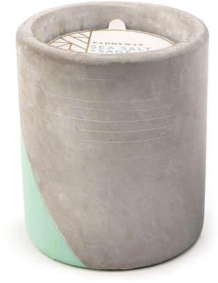 Paddywax Sea Salt + Sage Large Concrete Candle, 12 oz./340g