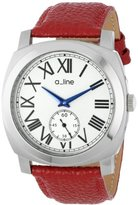 A Line a_line Women's AL-80023-02-D-RD Pyar Analog Display Japanese Quartz Red Watch