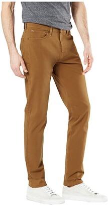 Dockers Skinny Fit Smart 360 Flex Jean Cut Pants (Dark Ginger) Men's Casual Pants