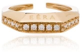 EÉRA 18K yellow gold Sabrina diamond ear cuff