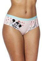 Disney Mickey Mouse Paris Print Shorts, Women's