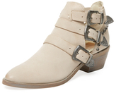 Dolce Vita Spur Triple Buckle Ankle Bootie
