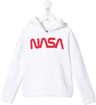 Little Eleven Paris Nasa print hoodie