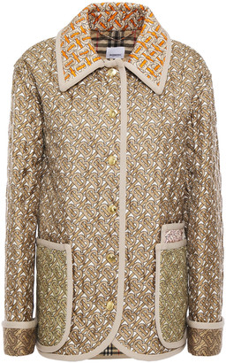 Burberry Printed Silk-twill Jacket