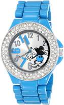 Disney Women's Mickey Mouse Dial Enamel Bracelet Watch MK2077