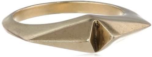 Sam Edelman Knife Edged Colored Ring