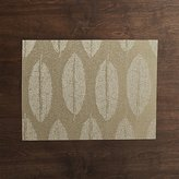 Crate & Barrel Chilewich ® Leaf Jacquard Reversible Placemat