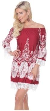 White Mark Women's Mya Dress