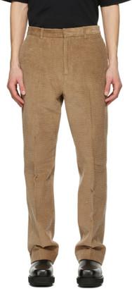 Acne Studios Brown Corduroy Trousers