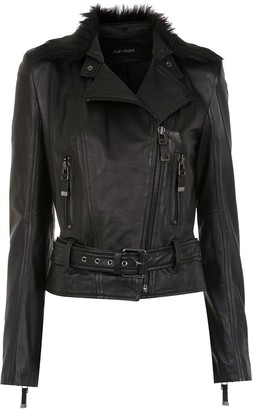 Tufi Duek Leather Jacket