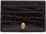 Alexander McQueen Textured Leather Card Holder