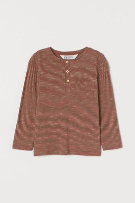 H&M Patterned jersey top