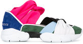 Emilio Pucci colour block sneakers