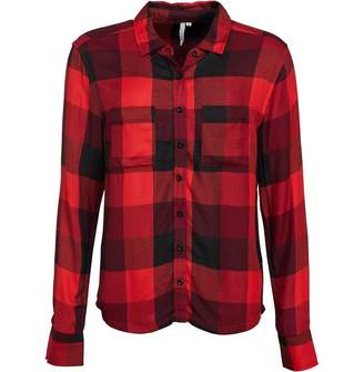 Animal Womens Tektronic Long Sleeve Shirt Sports Red