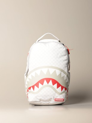 Sprayground Backpack Backpack In Vegan Leather With Shark Print