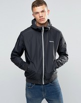 Bench Zip Through Lightweight Jacket in Black