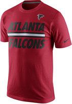 Nike Men's Atlanta Falcons Team Stripe T-Shirt