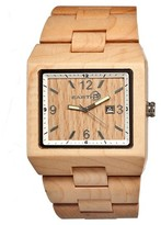 Earth Wood Men's Rhizomes Watch with Eco-Friendly Sustainable Wood Bracelet