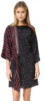 3.1 Phillip Lim Kimono Dress with Cascading Ribbon