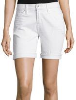 STYLUS Stylus Denim Bermuda Boyfriend Shorts - Tall
