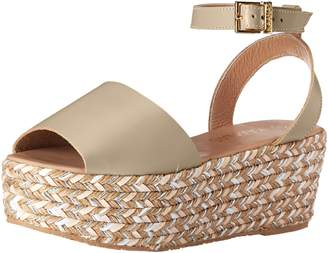 Kaanas Women's Trinidad Espadrille Wedge Sandal Clay 10 M US