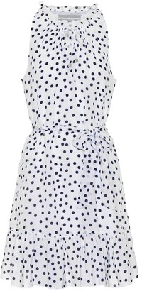 Heidi Klein Santa Margherita polka-dot minidress