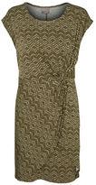 Vero Moda Roxanna Printed Knot-Front Dress