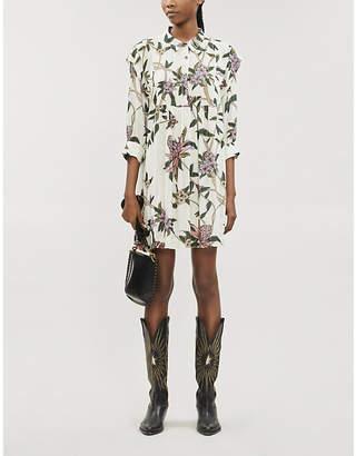BA&SH Paprika floral-print woven maxi dress