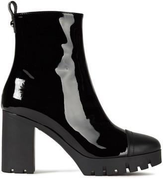 Giuseppe Zanotti Patent-leather Platform Ankle Boots