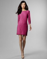 Diane von Furstenberg Zarita Lace Shift Dress, Gardenia
