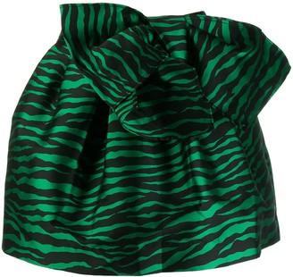 P.A.R.O.S.H. Zebra Print Skirt